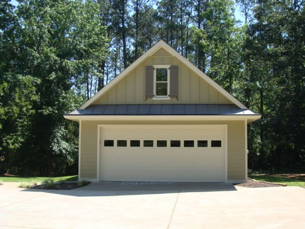 Building a garage will add value to your home for Building detached garage cost